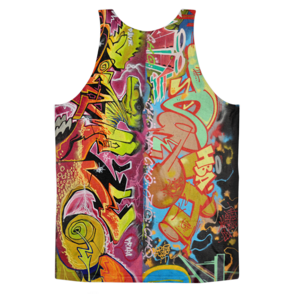 Graffiti Tank Top from Prague (Arnie Glesper Collection) | All-Over Tank | Eternal Weekend - 2