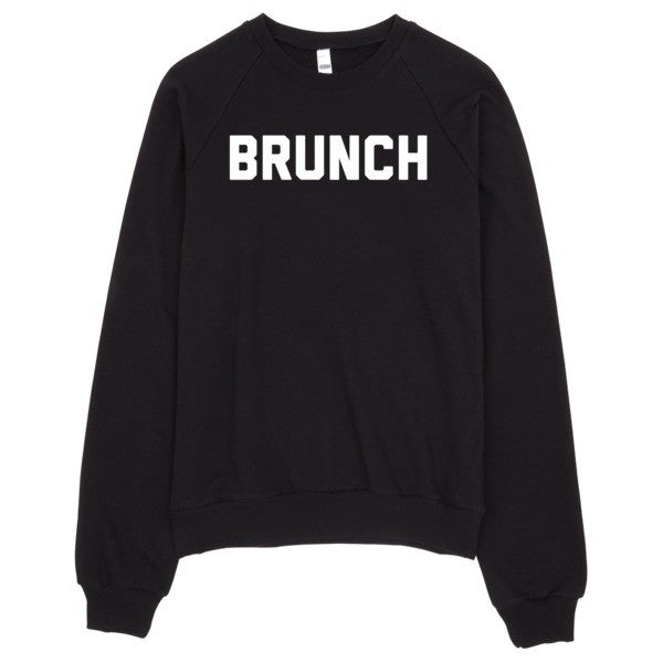 Brunch Sweater | Unisex Crewneck Sweatshirt - Black | Eternal Weekend - 1