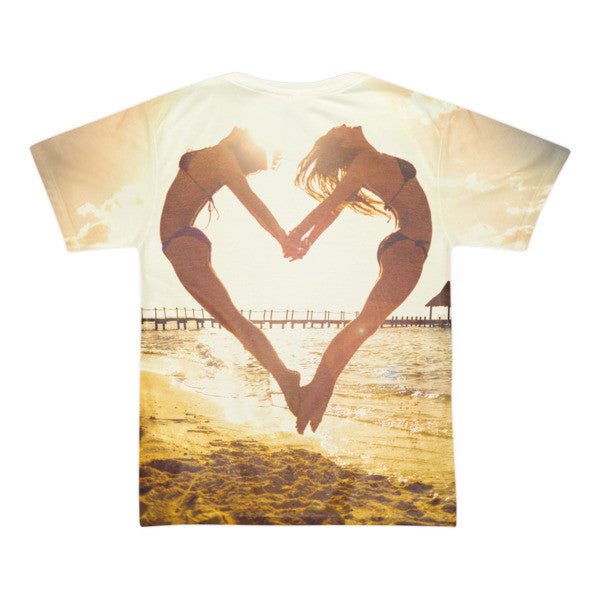 Heart Beach (Jumping Heart Shirt) | All-Over Shirt | Eternal Weekend - 2