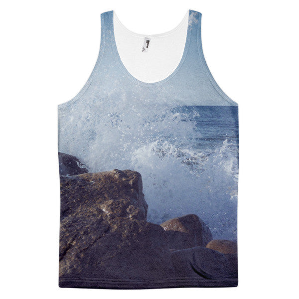 Splash On The Rocks Tank | All-Over Tank | Eternal Weekend - 1