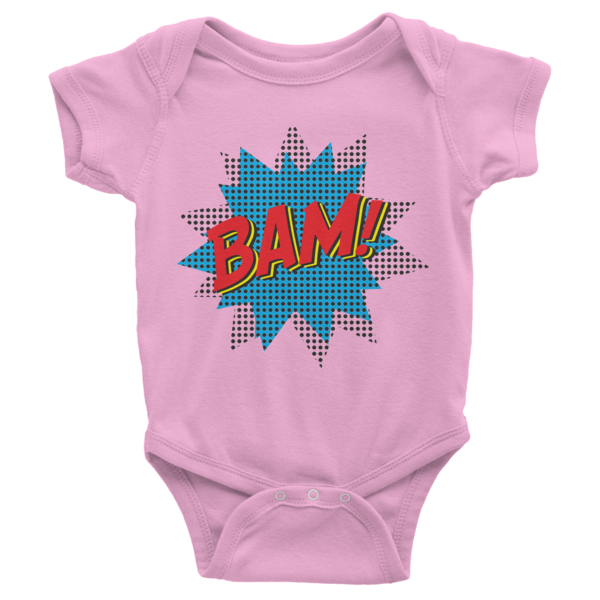 BAM Infant short sleeve onesie | Onsies | Eternal Weekend - 4