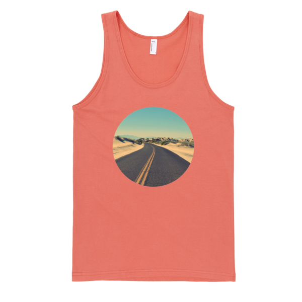The Road To Freedom Tank Top | unisex coral Tank | Eternal Weekend - 1