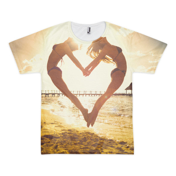 Heart Beach (Jumping Heart Shirt) | All-Over Shirt | Eternal Weekend - 1