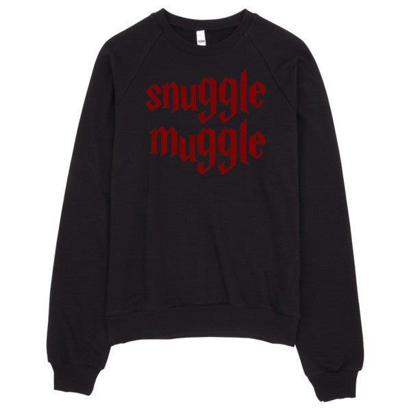 Snuggle Muggle | Unisex Crewneck Sweatshirt Grey | Eternal Weekend - 3
