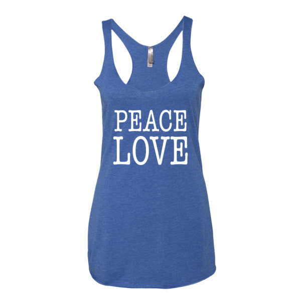 Peace Love Women's tank top | Women's Tank | Eternal Weekend - 4