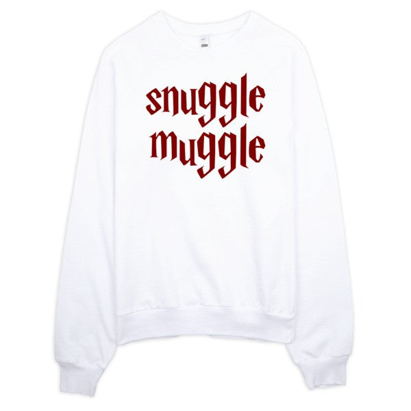 Snuggle Muggle | Unisex Crewneck Sweatshirt Grey | Eternal Weekend - 2