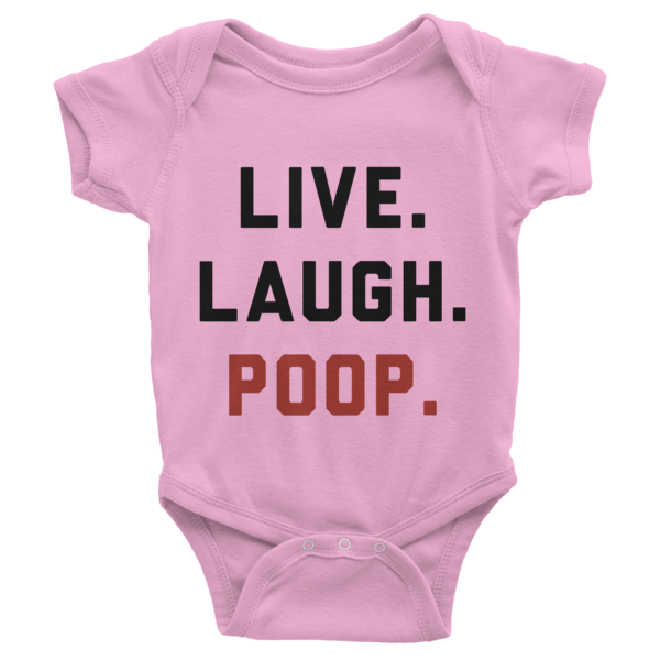 Live Laugh Poop Onesie | Onsies | Eternal Weekend - 3