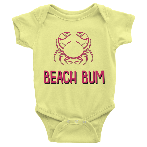 Beach Bum Infant short sleeve onesie | Onsies | Eternal Weekend - 3
