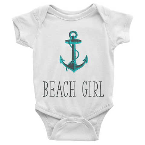 Beach Girl Infant short sleeve onesie | Onsies | Eternal Weekend