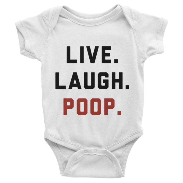 Live Laugh Poop Onesie | Onsies | Eternal Weekend - 1