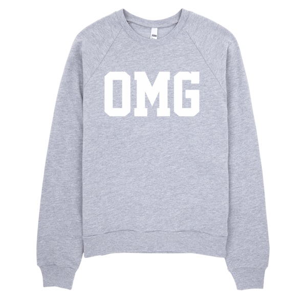 OMG Sweater | Unisex Crewneck Sweatshirt - Black | Eternal Weekend - 2