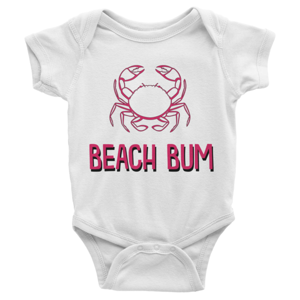 Beach Bum Infant short sleeve onesie | Onsies | Eternal Weekend - 1