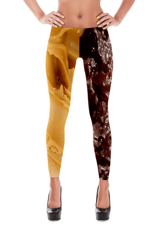 Peanut Butter and Jelly Leggings | Leggings | Eternal Weekend - 1