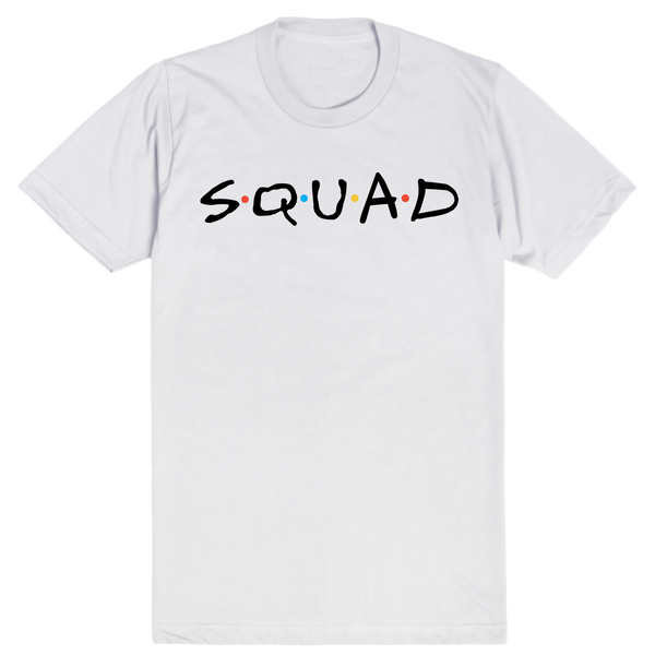 Squad Goals - Friends | Unisex White T-Shirt | Eternal Weekend - 1