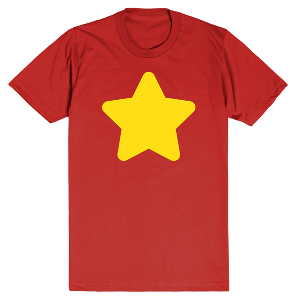 Steven Universe Star | Unisex Red T-Shirt | Eternal Weekend - 1