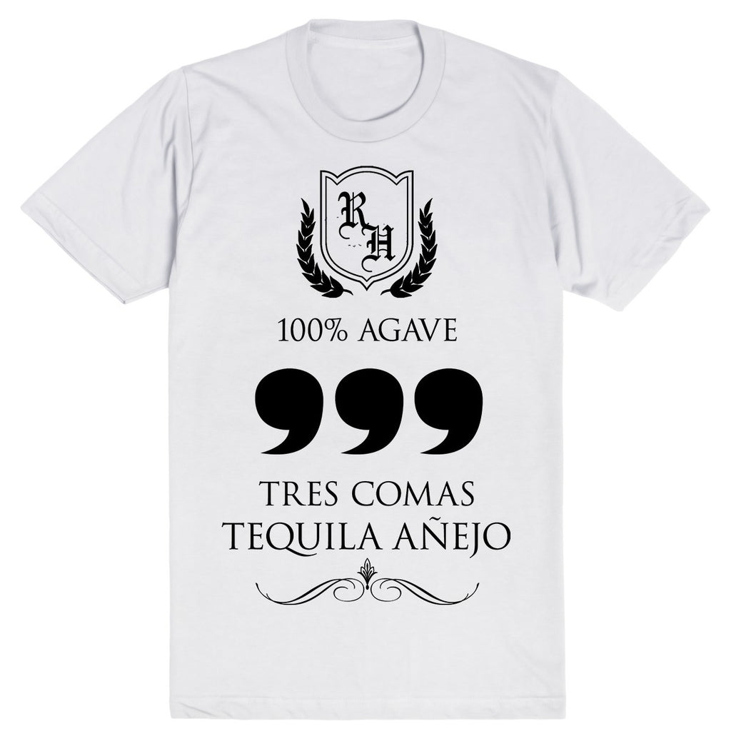 Tres Comas Tequila - Silicon Valley | Unisex White T-Shirt | Eternal Weekend - 1