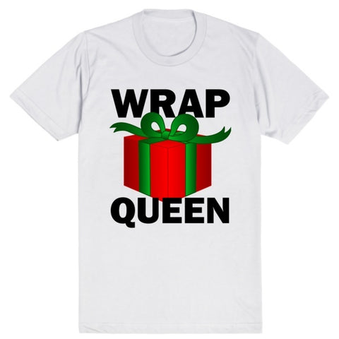 Wrap Queen - Christmas | Unisex White T-Shirt | Eternal Weekend - 1