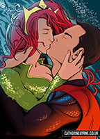 Mera and Superman