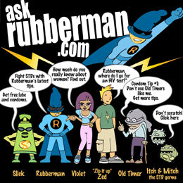 Commercial illustration - Cat Byrne - Ask Rubberman