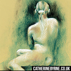 Figure drawing by Cat Byrne - Christina 19