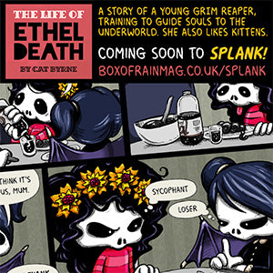 The Life of Ethel Death by Cat Byrne preview 2