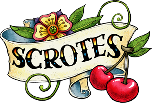 Scrotes by Cat Byrne