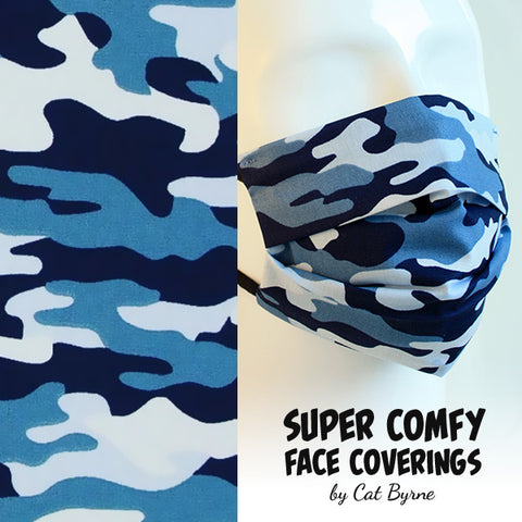 Arctic Camouflage Face Covering