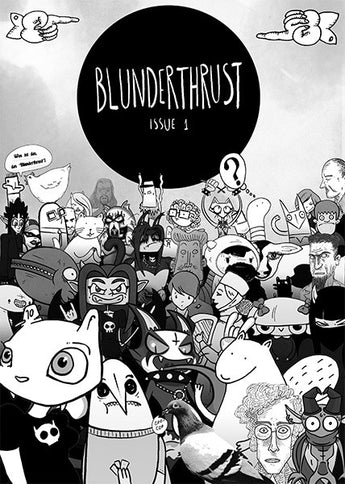 Blunderthrust Volume 1 - small press indie comic UK