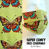 Butterflies Face Covering