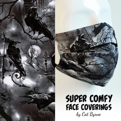 Crows and Corvids Face Covering