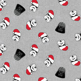 Darth Vader and Santa Troopers Face Covering