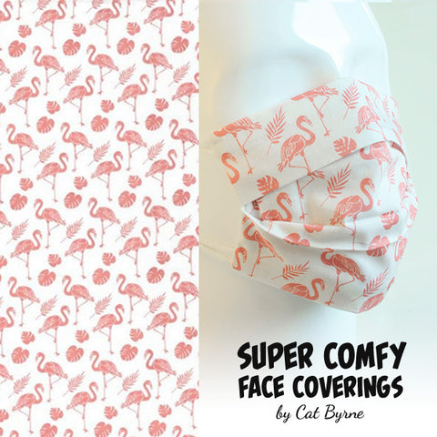 Flamingo Face Covering