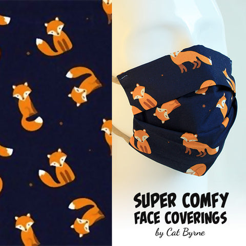 Foxes Face Covering