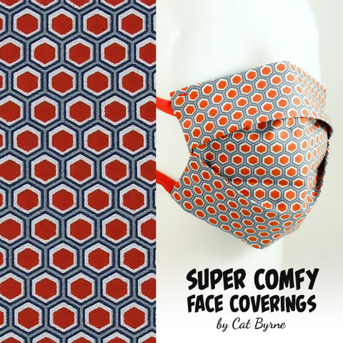 Geometric Face Covering