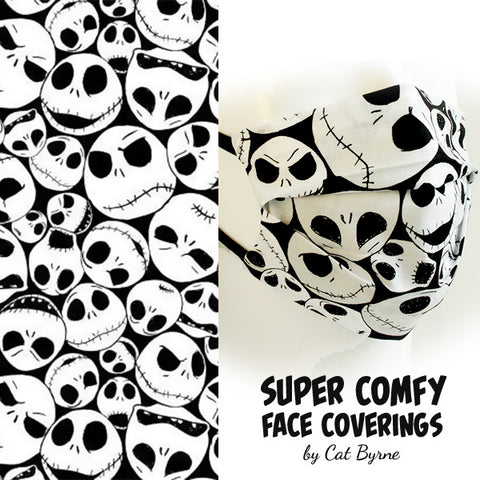 Jack Skellington Face Covering