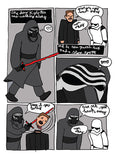 A Day in the life of Kylo Ren - fan comic by Darth Awesome