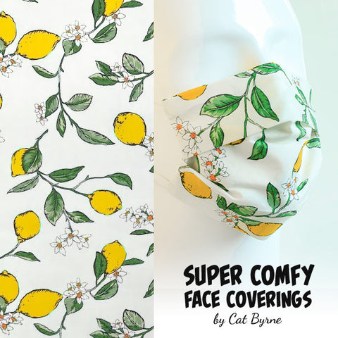 Lemons Face Covering