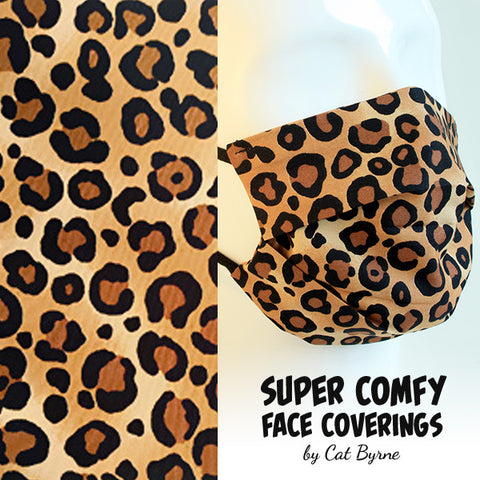 Leopard Spots Face Covering