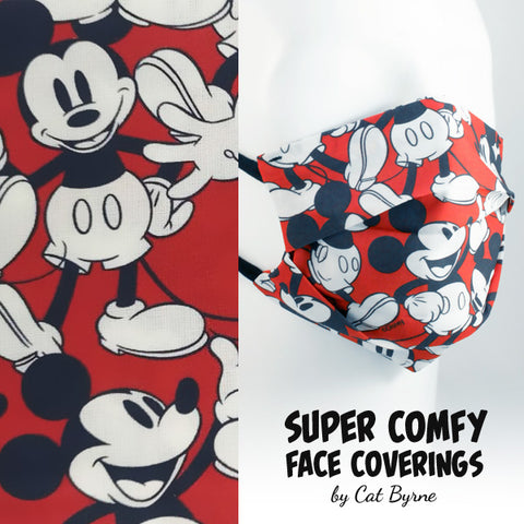 Mickey Mouse Face Covering