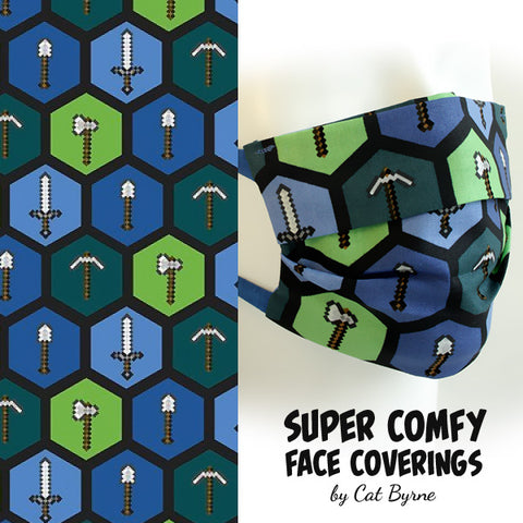 Minecraft Face Covering