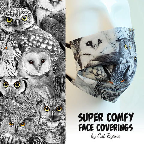 Owls Face Covering