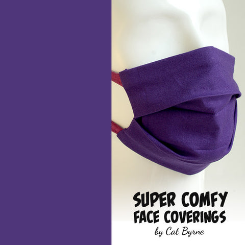 Purple Face Covering