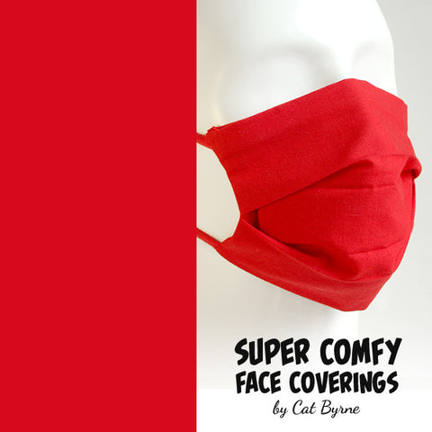 Red Face Covering