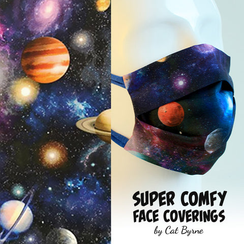 Planets Face Covering