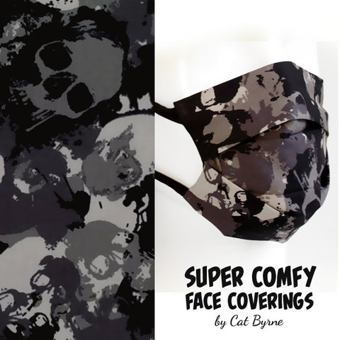 Skull Camouflage Face Covering