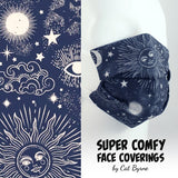 Sun & Moon Face Covering
