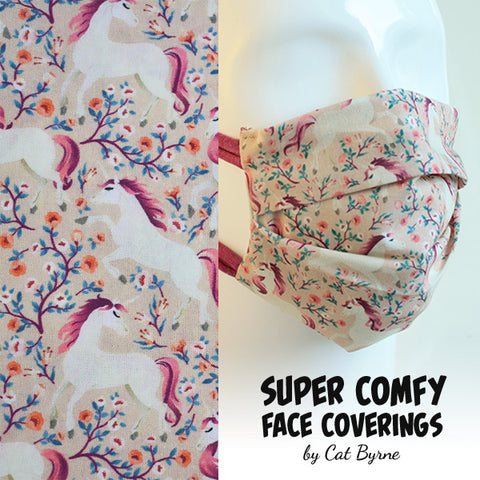 Unicorn Forest Face Covering