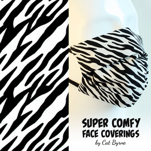 Zebra Face Covering