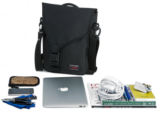 TOM BIHN Ristretto for iPad or iPad 2 vertical messenger bag fits....
