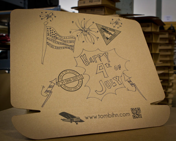Happy Independence Day from TOM BIHN